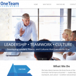 Website Design - oneteamleadership.com