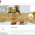 Website Design - gatherwine.com