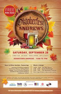 Oktoberfest Andrews 2019! @ Downtown Andrews | Andrews | North Carolina | United States