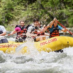 Rafting the Nantahala River
