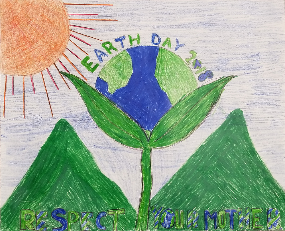 2018 Earth Day Poster Contest Winner