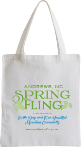 Spring Fling Canvas Bag