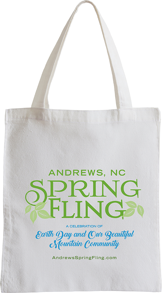 42d25b2b4 Spring Fling Canvas Bag - PRICE: $7 | Andrews NC Chamber of Commerce