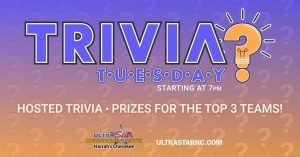 Hosted Trivia @ Ultra Star Multi-Tainment @ Ultra Star Multi-Tainment | Murphy | North Carolina | United States