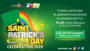 St. Patrick's Party@UltraStar Multi-tainment @ UltraStar Multitainment | Murphy | North Carolina | United States