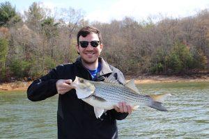 Striped Bass Kayak Fishing