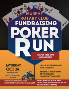 Poker Run @ Tri-county Community College
